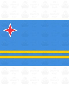 Aruba flag sticker