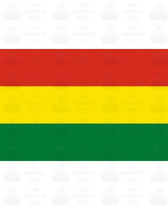 Bolivia flag sticker