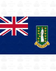 British Virgin Islands flag sticker
