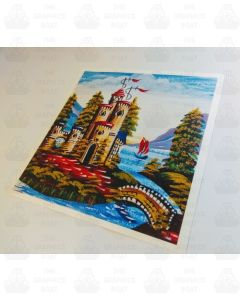 Castle Sticker 9 WITH BORDER
