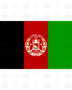 Afghanistan flag sticker