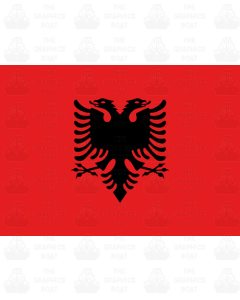 Albania flag sticker