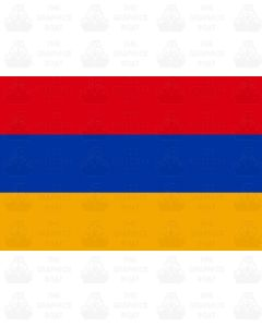 Armenia flag sticker