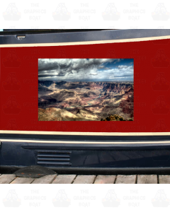 Narrowboat Printed Image Panel
