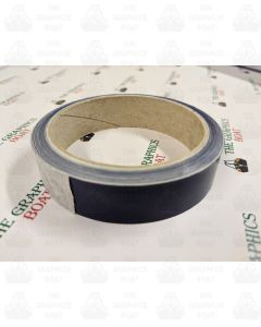 10m of 25mm Deep Dark blue Tape