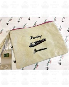 Embroidered Pouch - Fradley Junction