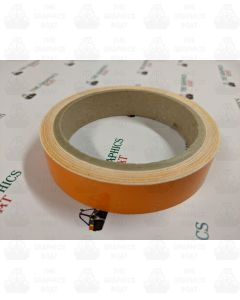 10m of Orange 20mm tape
