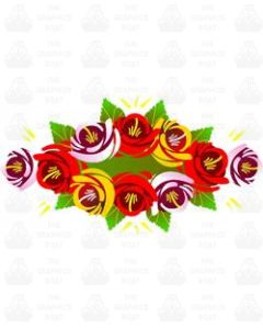 Canal rose sticker