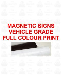 Magnetic Signs Vehicle Grade
